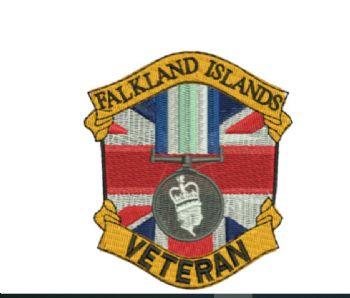 Operation Banner /Falkland Island Embroidered polo shirt